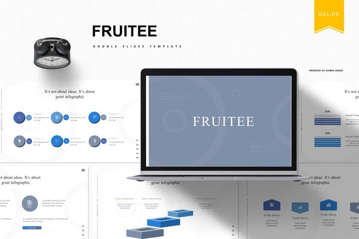 Thumbnail for Fruitee|Google Slides Template
