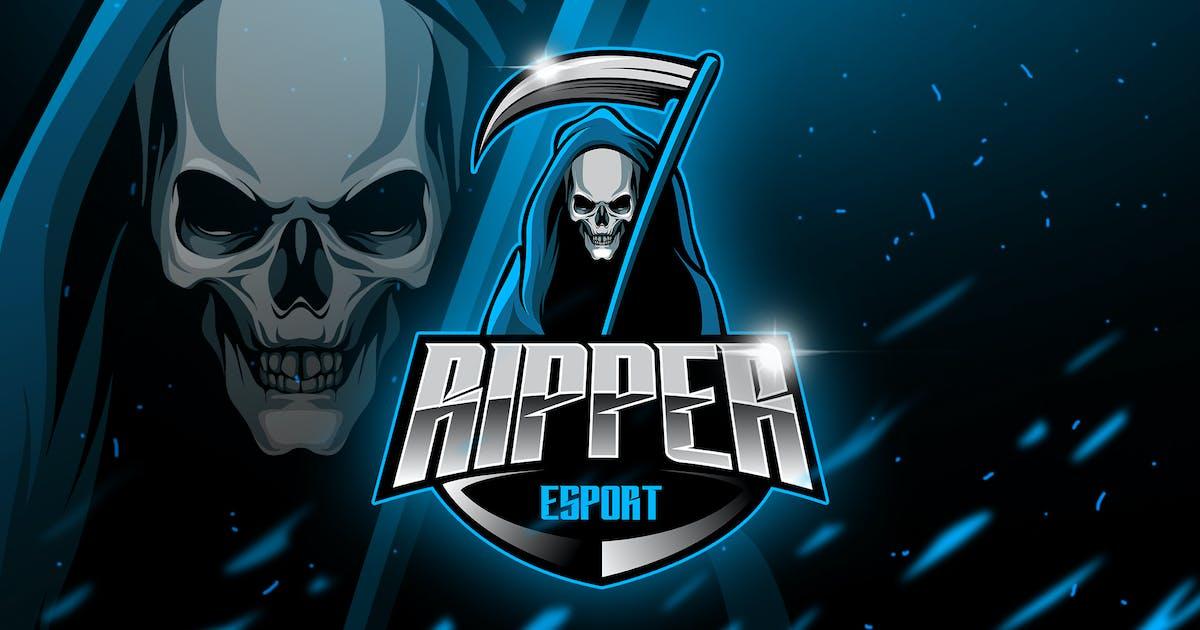 Ripper - Mascot & Esport Logo by aqrstudio