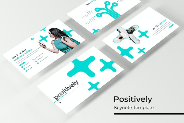 Thumbnail for Positively - Keynote Template