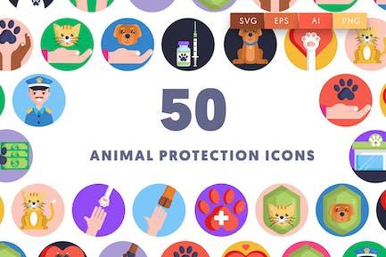50 Animal Protection Icons