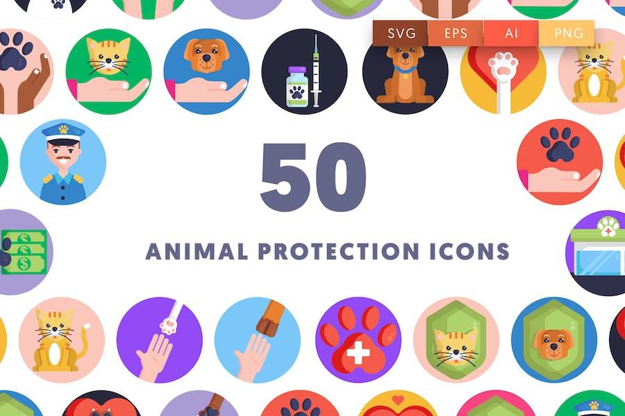 50 Tierschutz-Symbole