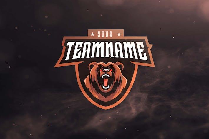 Thumbnail for Bear Sport and Esports Logos