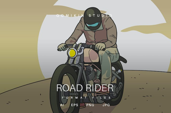 Thumbnail for Road Rider Illustration