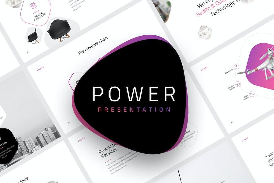 Power - Keynote Template