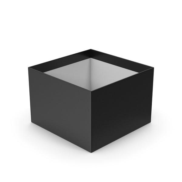 Коробка черная без колпачка