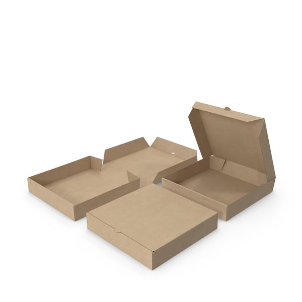 Pizza Boxes Paper 6 inch