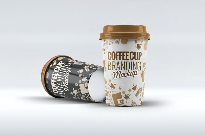 Cover Image For Coffee Cup Mock-Up