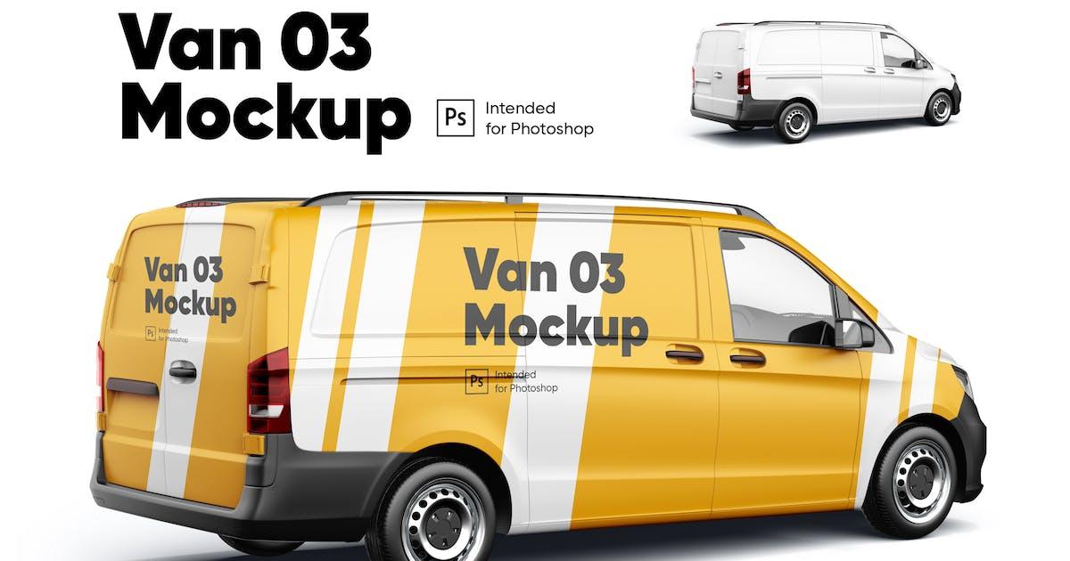 Download Van 03 Mockup by Kavoon