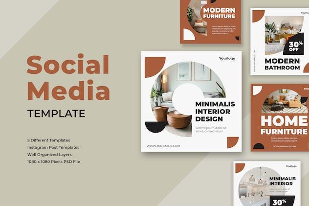 Interior Design Instagram Post