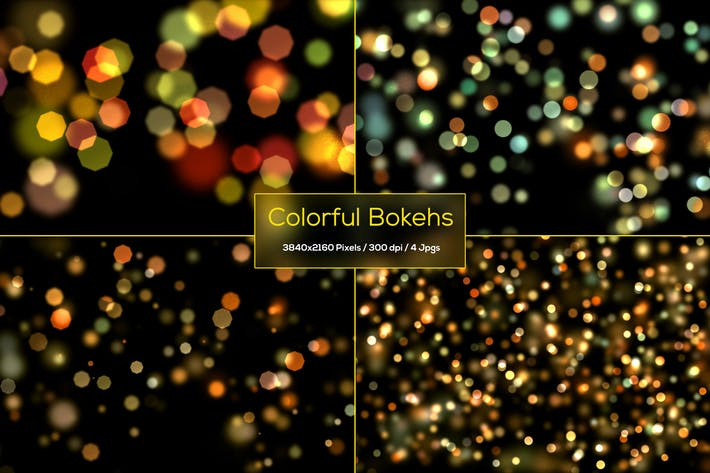 Thumbnail for Colorful Bokeh Backgrounds