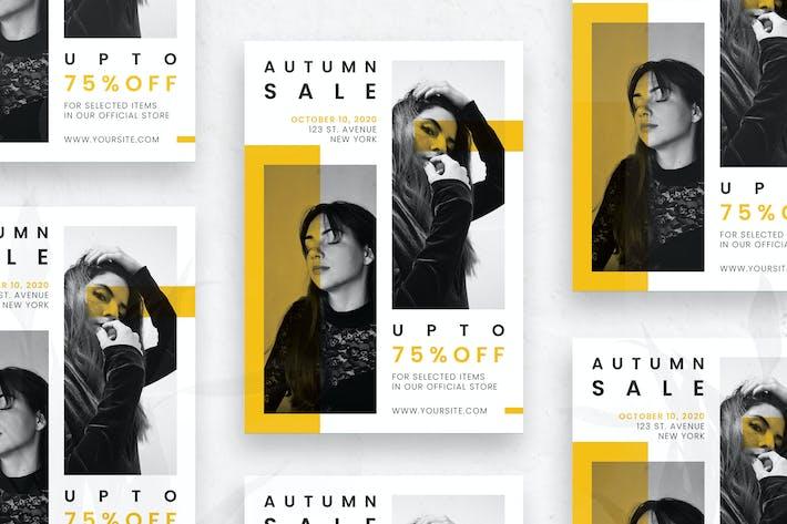 Thumbnail for Autumn Sale - Flyer