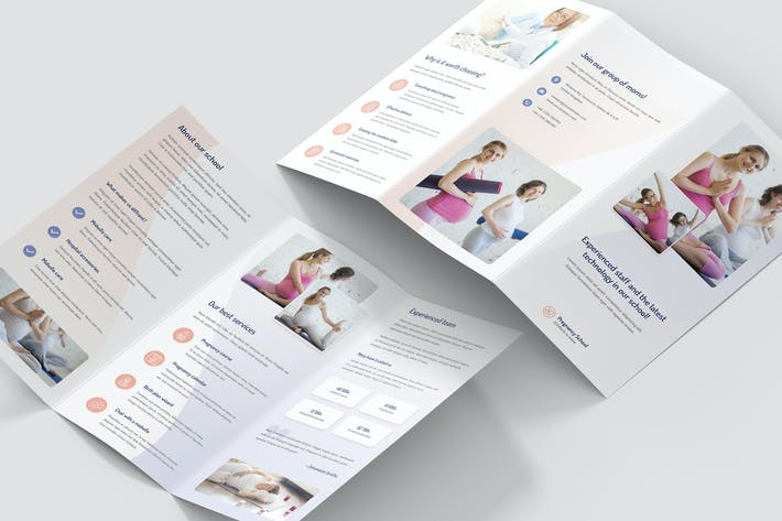 Thumbnail for Brochure – Pregnancy School Tri-Fold