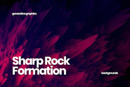 Sharp Rock Formation Backgrounds
