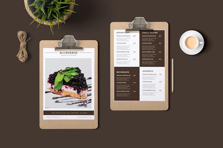 Cover Image For Bluberros Restaurant Menu