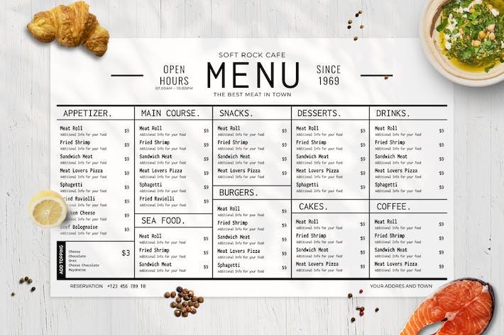 Resto Food Menu Vol. 1