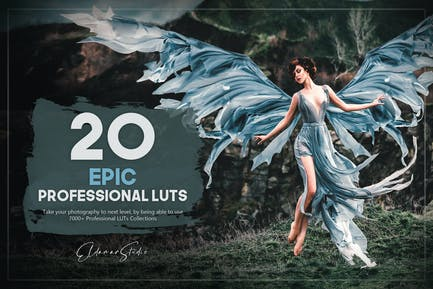 20 Epic LUTs Pack