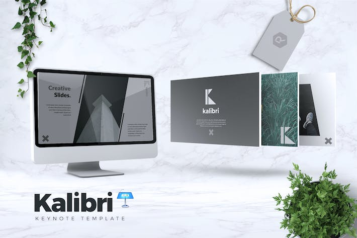 Thumbnail for KALIBRI - Creative Keynote Template