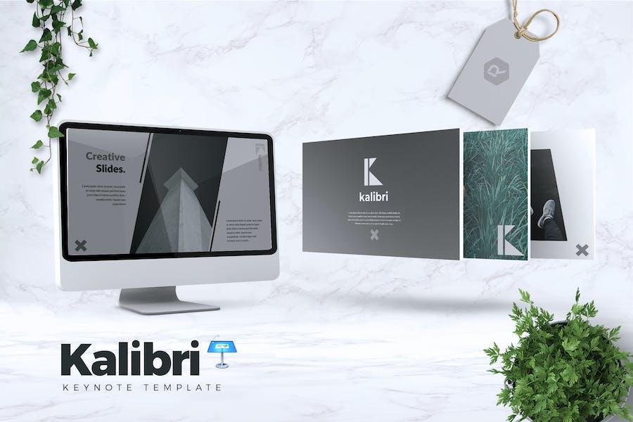 KALIBRI - Шаблон креативной Keynote