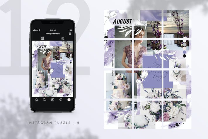 Thumbnail for Instagram Puzzle - H
