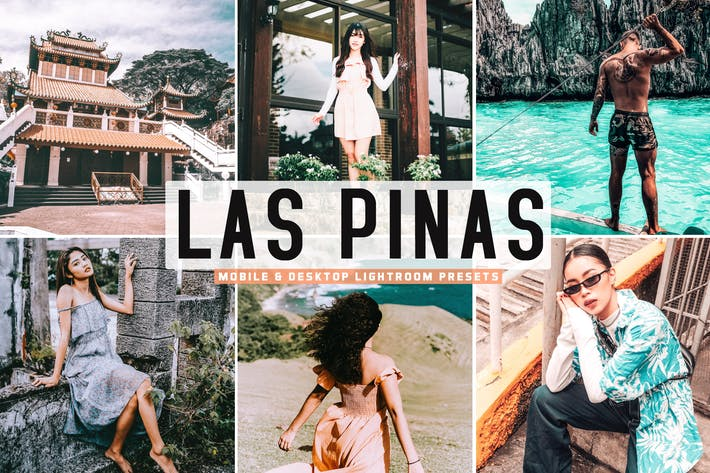 Thumbnail for Las Pinas - Ajustes preestablecidos para sala de iluminación para móviles y de escritorio