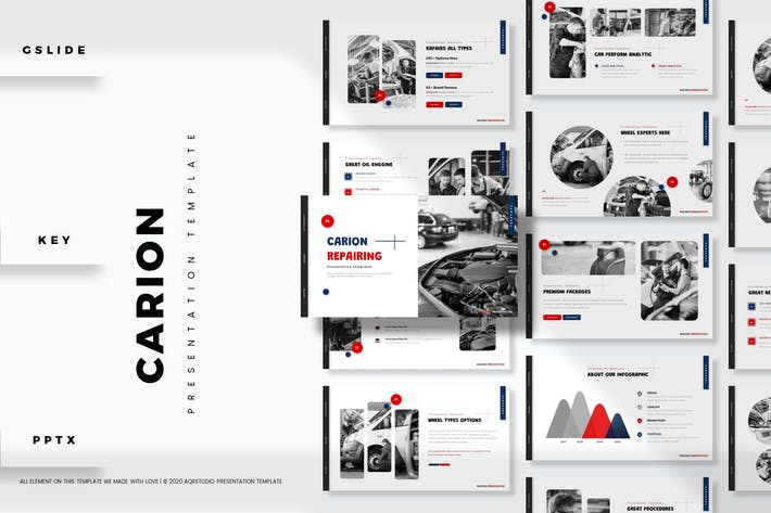 Carion - Presentation Template
