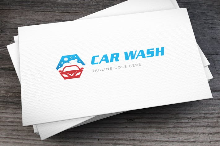 Thumbnail for Car Wash Logo Template