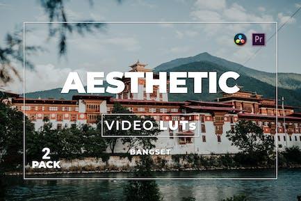Bangset Aesthetic Pack 2 Video LUTs