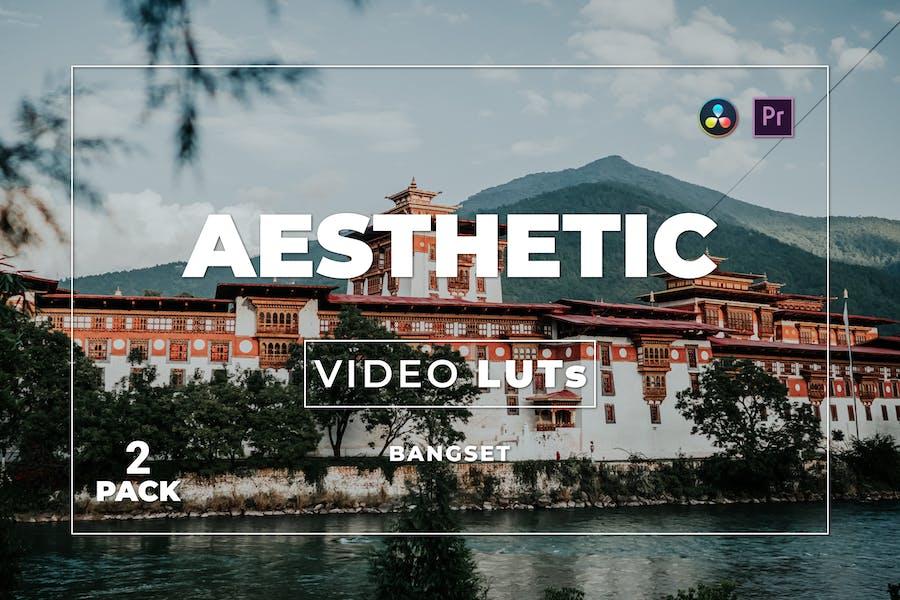 Bangset Эстетический пакет 2 Видео LUTs
