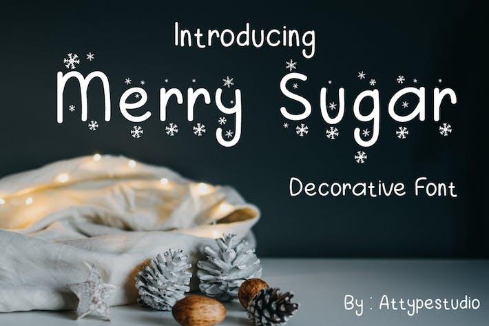 Thumbnail for Merry Sugar - Display Font