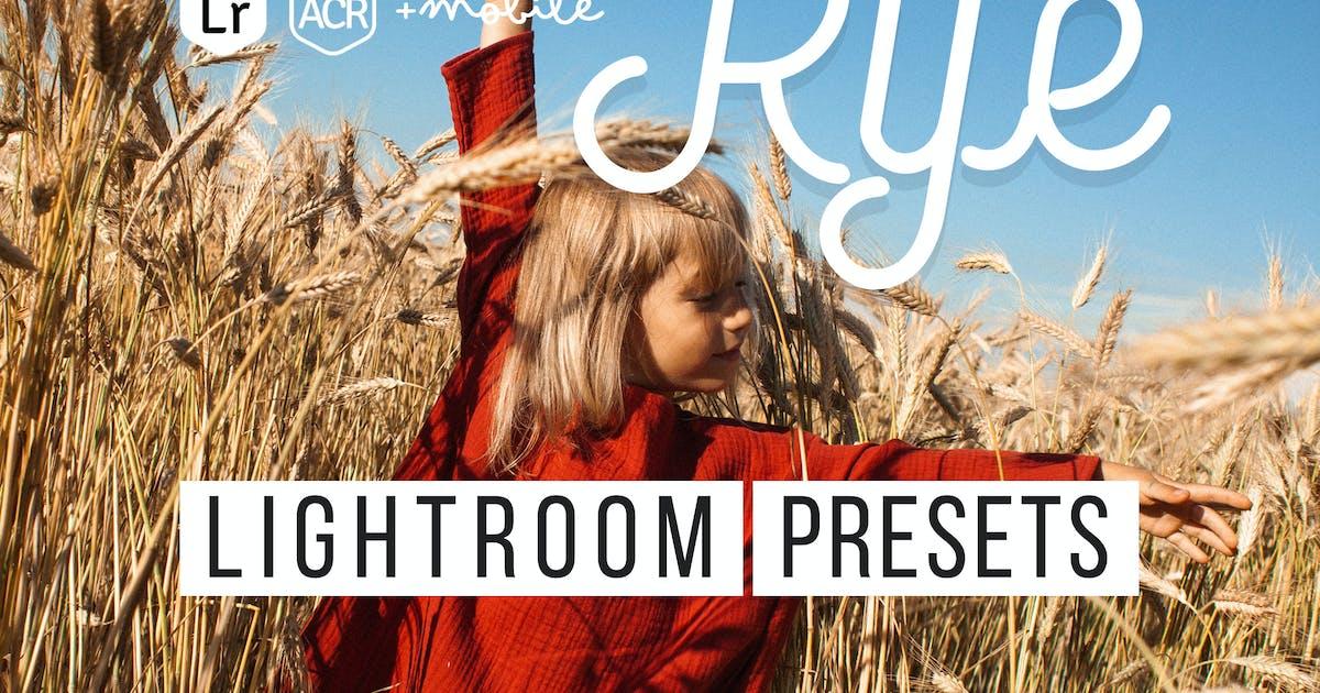 Download Rye Lightroom & ACR Presets by Presetrain