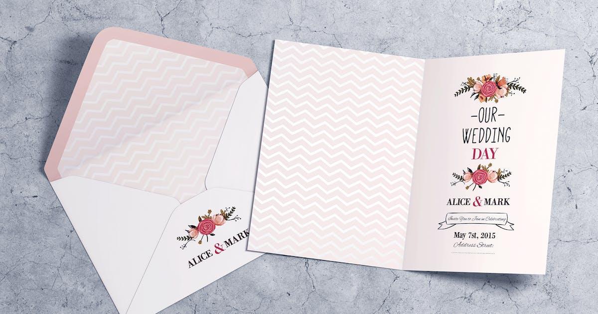 Download Invitation & Greeting Card MockUp vol.2 by goner13