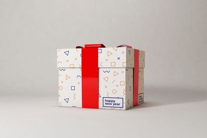 Thumbnail for Gift Box Mockup