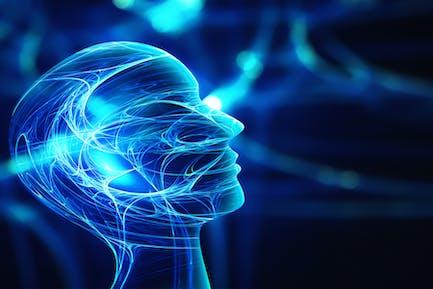 Innovationstechnologie abstrakter Hintergrund