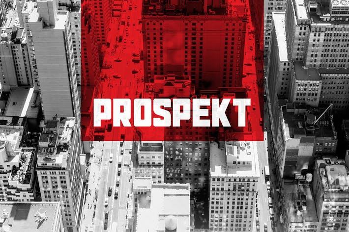 Thumbnail for Prospekt Typeface