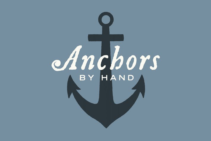 Thumbnail for Nautical Anchors and Rope by Hand