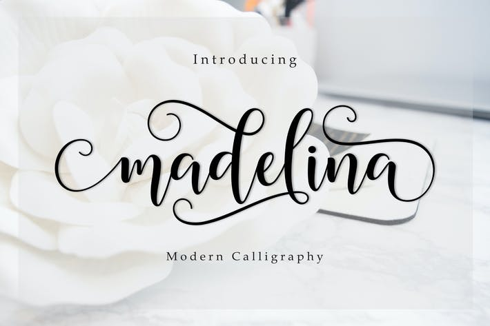 Thumbnail for Madelina Script