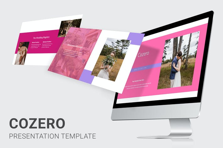 Cozero - Wedding Planner Google Slides