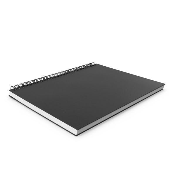 Cuaderno de bocetos en espiral