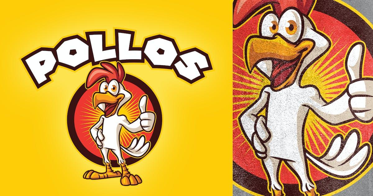 Download Cartoon Chicken Mascot Logo by Suhandi