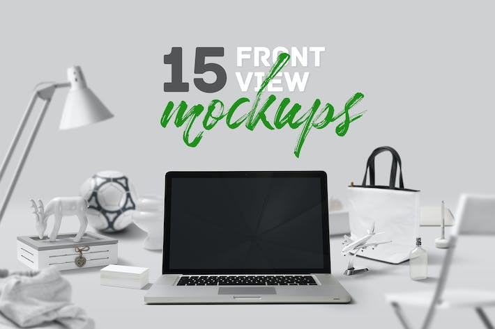 Thumbnail for 15 Frontview Mockups