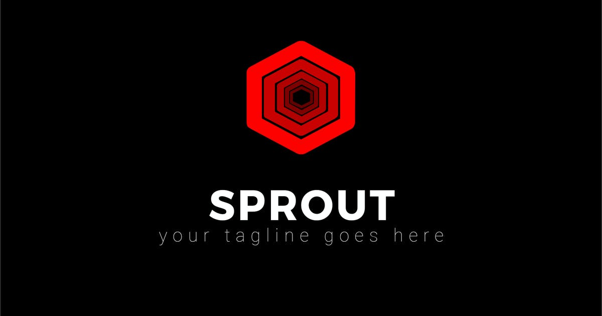 Download Sprout - Abstract Dark Logo Template by ThemeWisdom