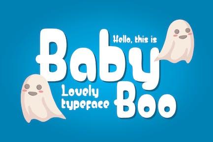 Baby Boo - Cute Font