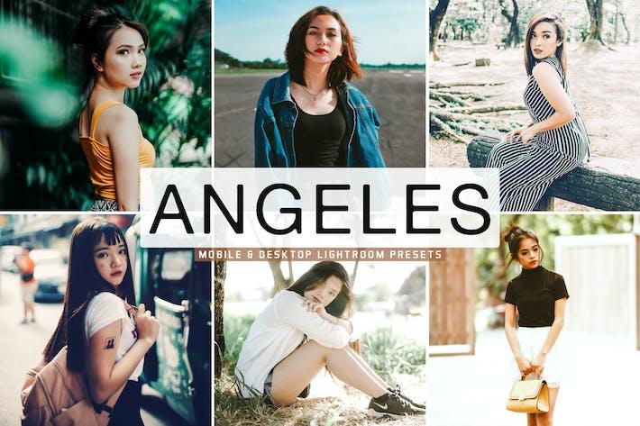 Cover Image For Angeles Mobile & Desktop Lightroom Presets