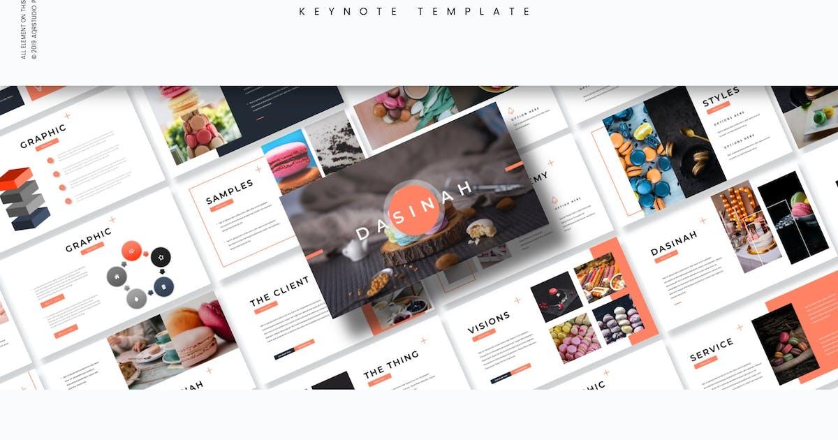 Download Dasinah - Keynote Template by aqrstudio