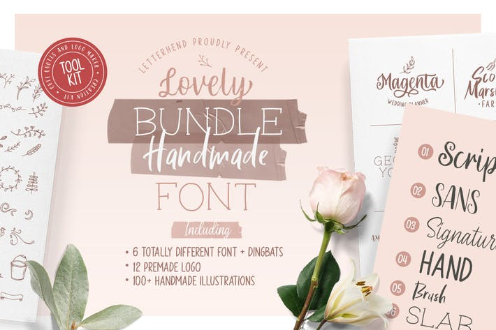 Cover Image For Olive - Hand Lettering Tool Kit!