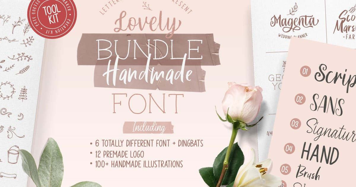 Download Olive - Hand Lettering Tool Kit! by letterhend