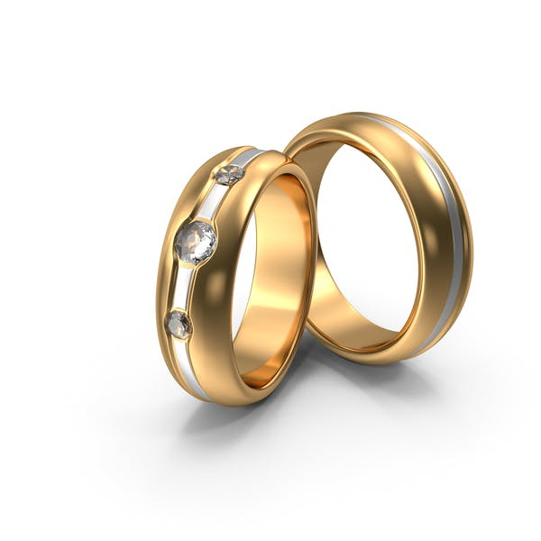 Thumbnail for Wedding Rings With Diamonds