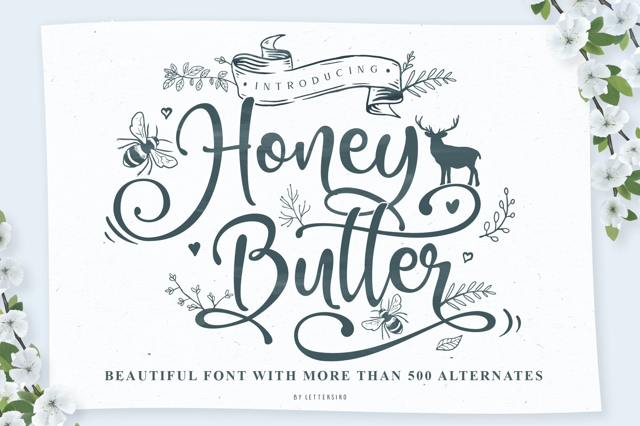Honey Butter Beautiful Font