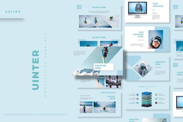 Cover Image For Uinter - Google Slide Template