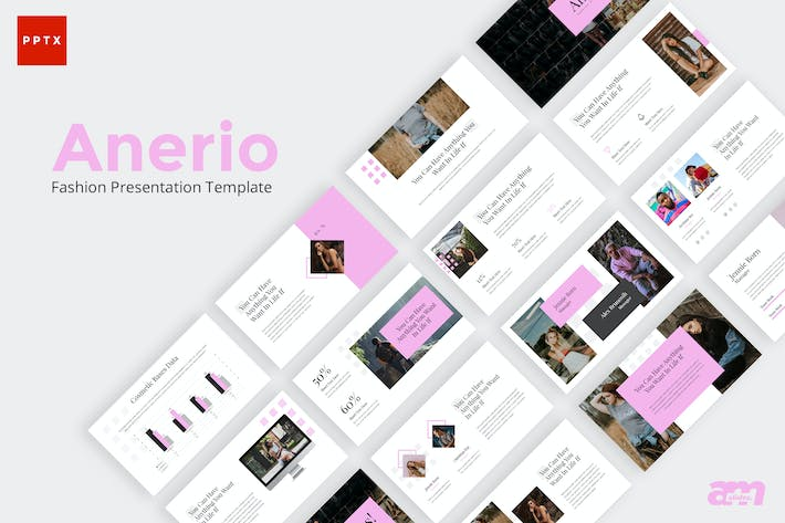 Thumbnail for Anerio Beautiful Fashion Powerpoint